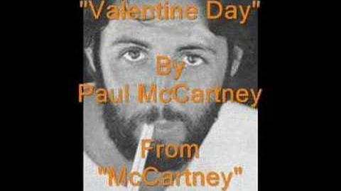 """Valentine Day"" By Paul McCartney"