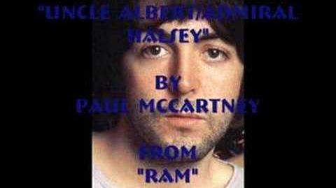 """Uncle Albert Admiral Halsey"" By Paul McCartney"