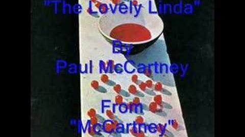 """""""The Lovely Linda"""" By Paul McCartney"""