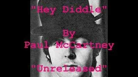 """""""Hey Diddle"""" By Paul McCartney"""