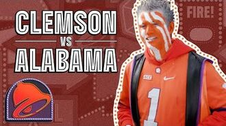 Alabama & Clemson Students Face Off at the National Championship The Taco Bell Show
