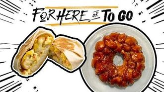 "Cinnabon Delights Hacks - Taco Bell's ""For Here or To Go"" Taco Bell"