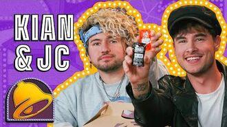 Kian Lawley & JC Caylen Test Their Tastebuds Blindfolded The Taco Bell Show