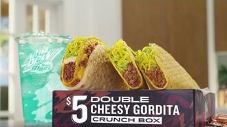 Tough To Top – $5 Double Cheesy Gordita Crunch Box (Commercial) Taco Bell