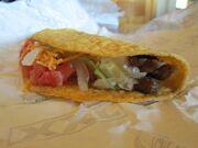 Xxl steak crispy taco