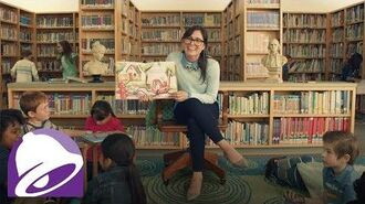 The Librarian – $5 Chalupa Cravings Box (Commercial) Taco Bell