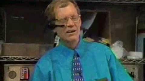 David Letterman at Taco Bell