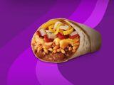 1/2-Pound Cheesy Bean & Rice Burrito