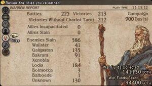 Tactics Ogre Titles