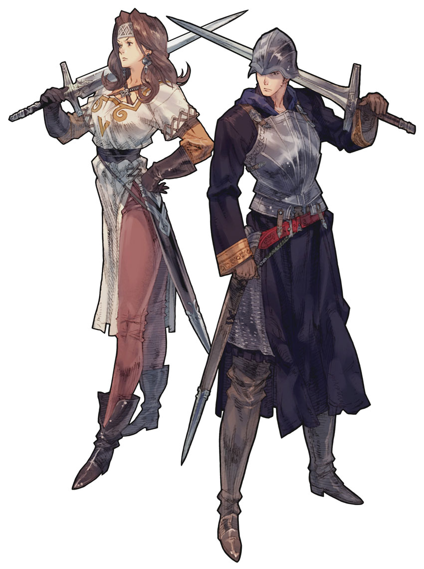 Warrior | Tactics Ogre Wiki | FANDOM powered by Wikia