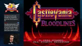 Castlevania- Bloodlines - Twitch Livestream
