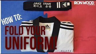 How to Fold your Martial Arts Uniform!-0