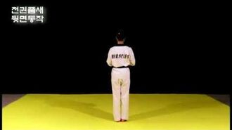 CHEONKWON Kang Su Ji Taekwondo Black Belt Poomsae 07