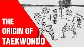 The Origin of Taekwondo ART OF ONE DOJO