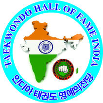 Logo of Taekwondo Hall of Fame India 4x4.