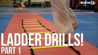Creative Agility Ladder Drills! Pt