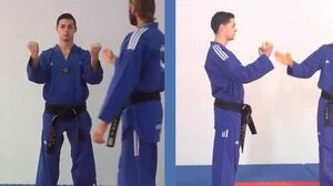 Tae Kwon Do - Double Outer Forearm Block