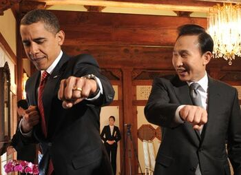 Barack-Obama-taekwondo