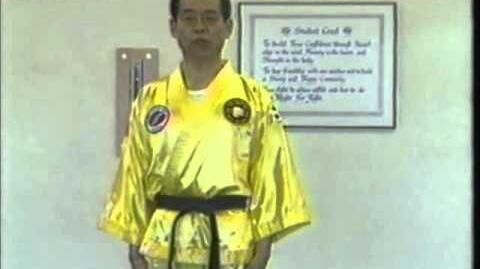 Chosang by Grand Master Jhoon Rhee