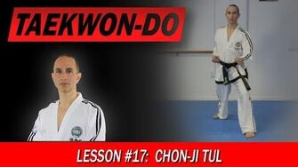 Taekwon-Do Lesson 17 Chon-Ji Tul