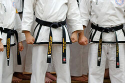 Rhee TKD Black Belts