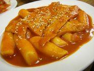 Tteokbokki corean