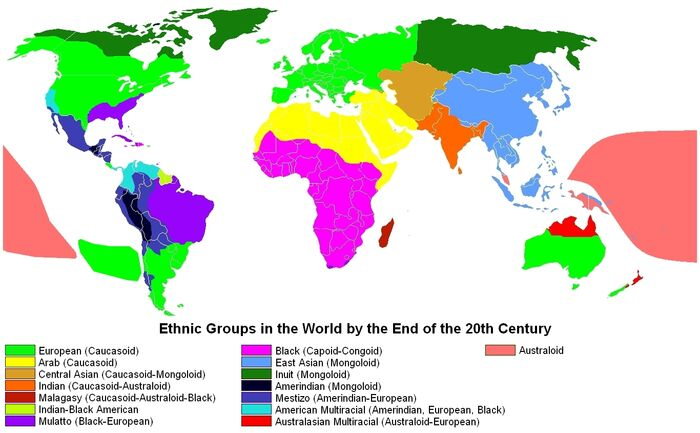 Ethnic Groups in the World