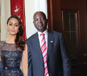 Queen Helene and Vincent Ndengu 11 Nov 13