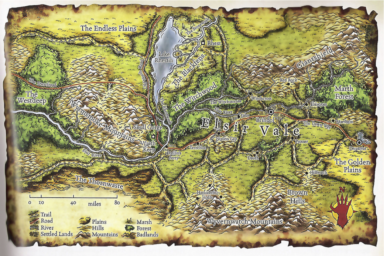 Dd 4e World Map.Elsir Vale D D Points Of Light Wiki Fandom Powered By Wikia