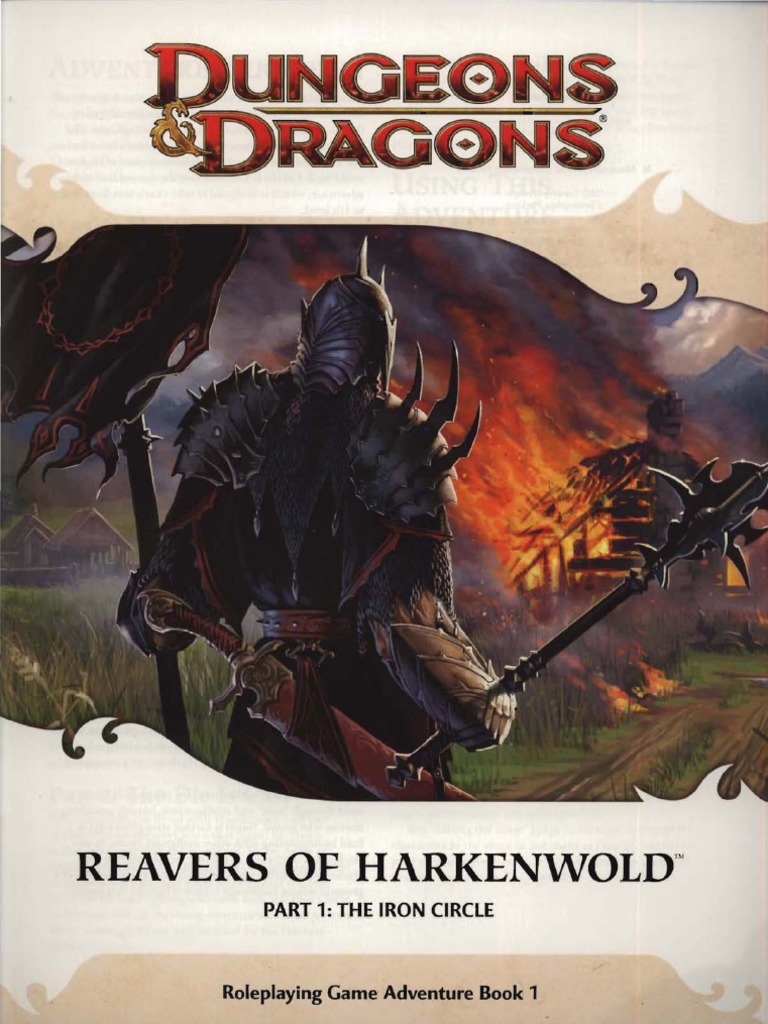 Cover of Reavers of Harkenwold