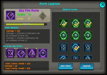 Rune-upgrade