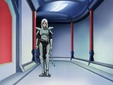 Luka walking down a hall