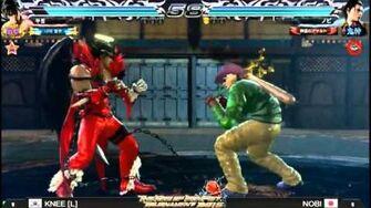 Tekken 7 Global Championship 2015 Grand FInal Knee VS Nobi-0