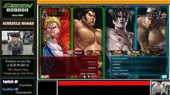 『 TTT2 』 Saint vs Knee - True Tekken God Match!!!