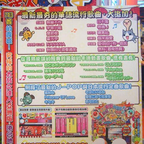 展覽中展示的遊戲基本資訊介紹。