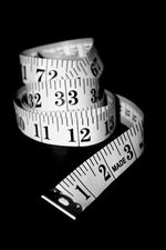Free coiled tape measure healthy living stock photo Creative Commons