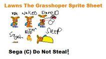 Lawns The GrassHoper Sprite Sheet