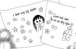 Yui's drawings to Mao
