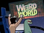 S01E06 Zak is watching 'Weird World'
