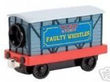 Faulty Whistles Movie Car