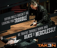 Taken 3 meme poster - fighting style and knocking enemies out