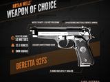 Weapons in Taken 3