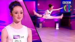 Taking The Next Step Julia's Amazing Audition CBBC