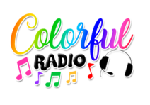 Logo colorful radio