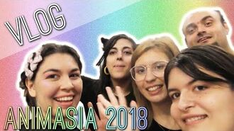 VLOG Colorful Characters in ANIMASIA 2018