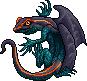 Toxidermis dragon male stripe