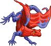 Toxidermis dragon female strawberry