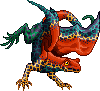 Toxidermis dragon female retic