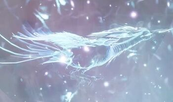 Ice Phoenix form Donghua