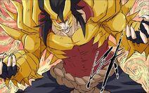 Golden Horned Land Dragon - mutation
